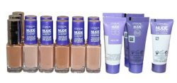 18 x Loreal Foundations | Sample Size | Inc Nude Magique BB & Glam Bronze